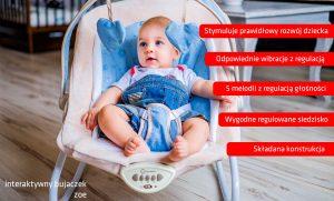 Leżaczek dla dziecka Lionelo Zoe