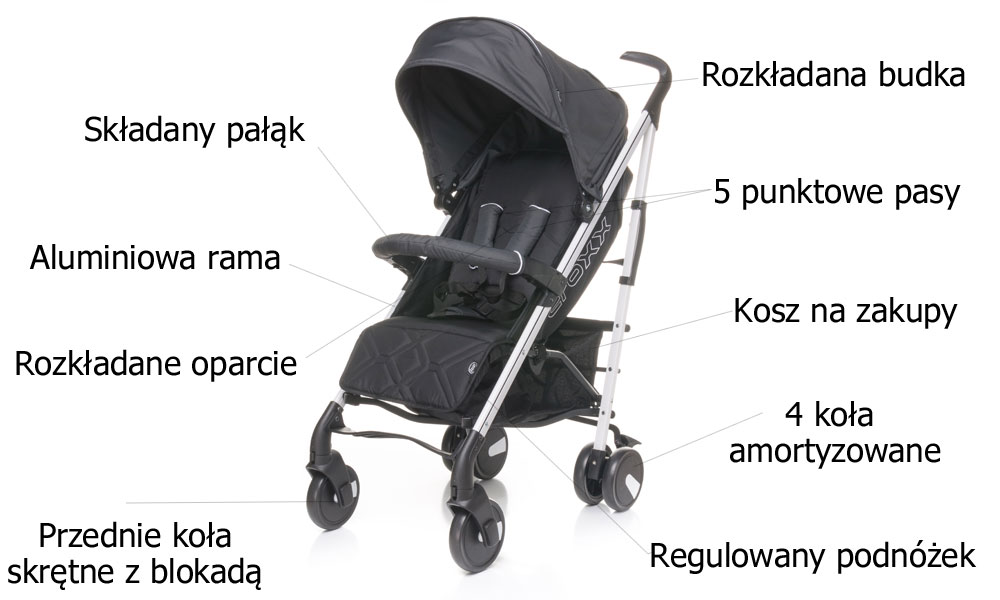 wózek spacerowy 4baby croxx